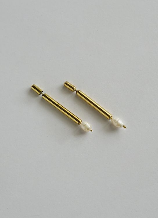 Rumme Tarute Earrings - Gold