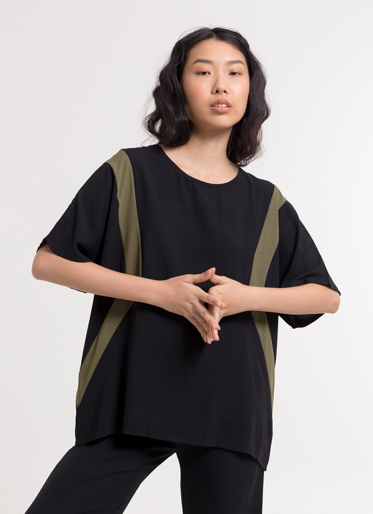 BOWN Mildred Top - Black