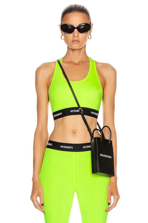 Vetements Sports Bra Top