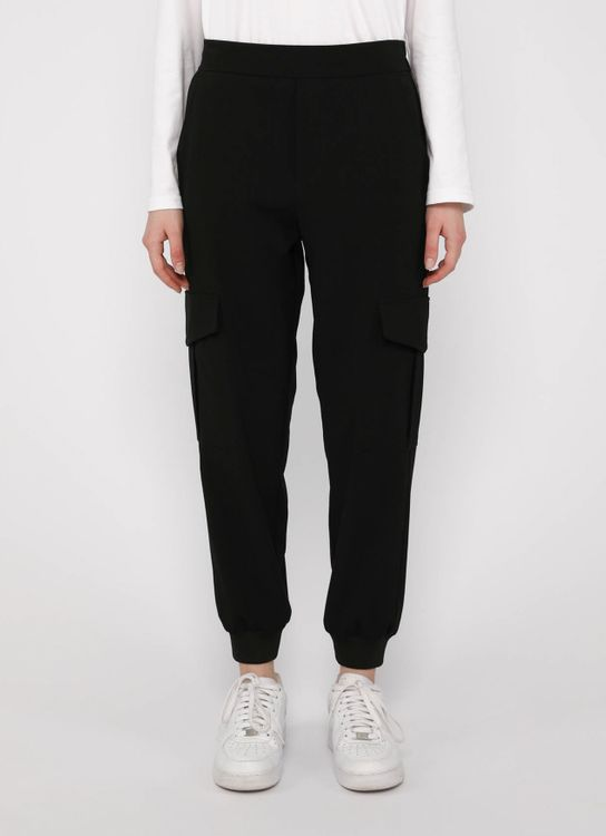 Hattaco Pocket Harem Pants Black