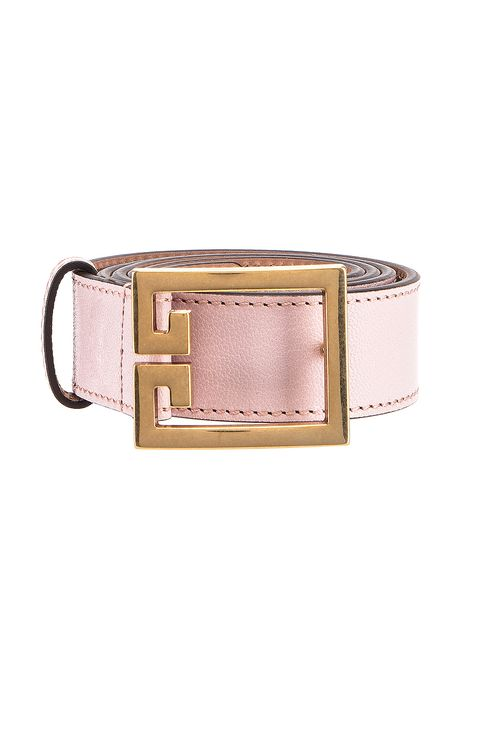 Givenchy GV3 Leather Buckle Belt