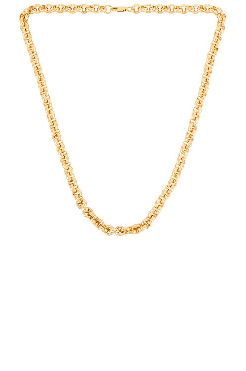 AUREUM Beige Rolo Chain Necklace