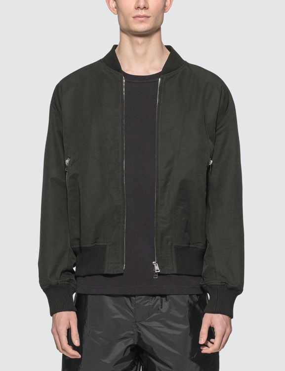 Bottega Veneta Nylon Bomber Jacket