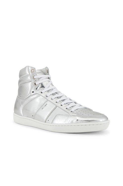 Saint Laurent Leather Up Sneaker