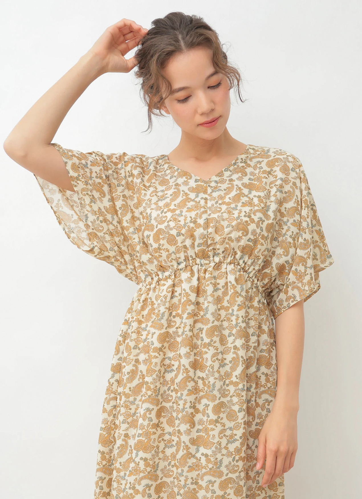 Earth, Music & Ecology Asami Dress - Ivory