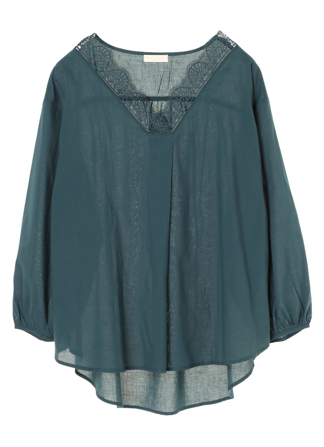 Earth, Music & Ecology Cassia Top - Dark Green
