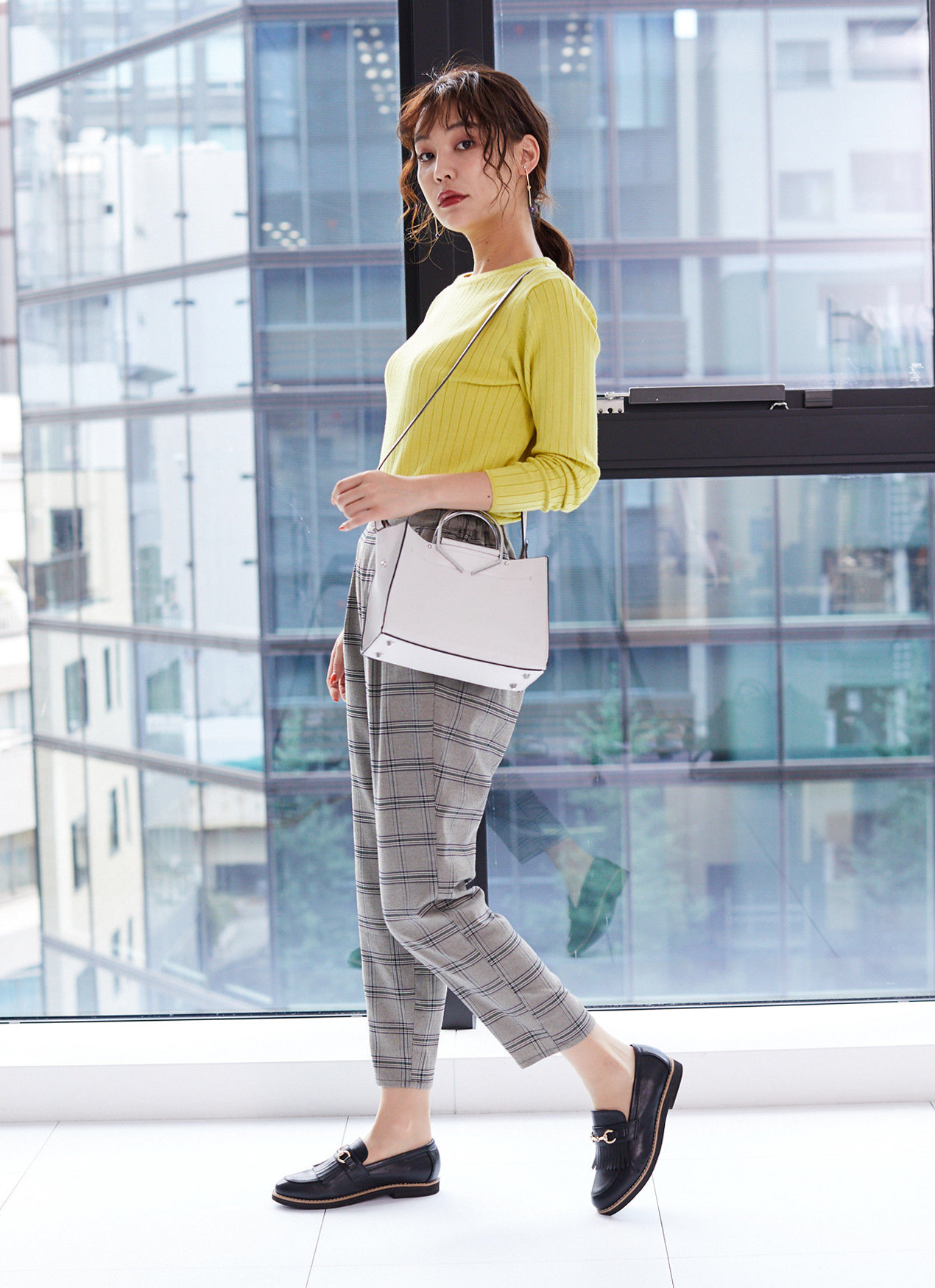 Green Parks Canan Sweater - Yellow