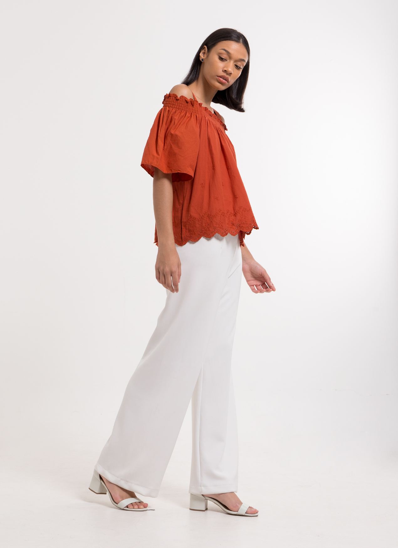 Earth, Music & Ecology Hatsuko Top - Terracotta