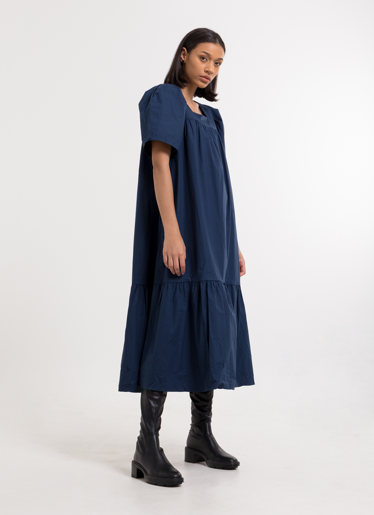 BOWN Aglaia Dress - Navy