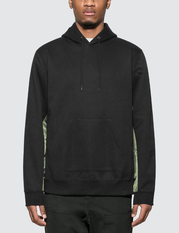 Sophnet Fabric Mix Hoodie