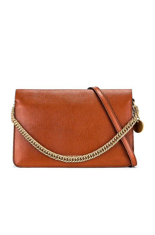 Givenchy Cross 3 Leather & Suede Crossbody Bag