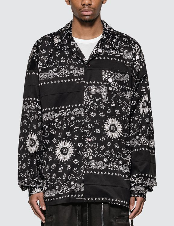 Mastermind World Bandana Vacation Long Sleeve Shirt