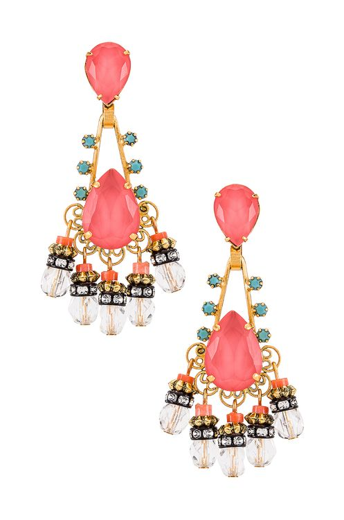Elizabeth Cole Eloise Earrings
