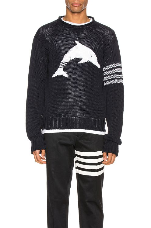 Thom Browne Dolphin Pullover