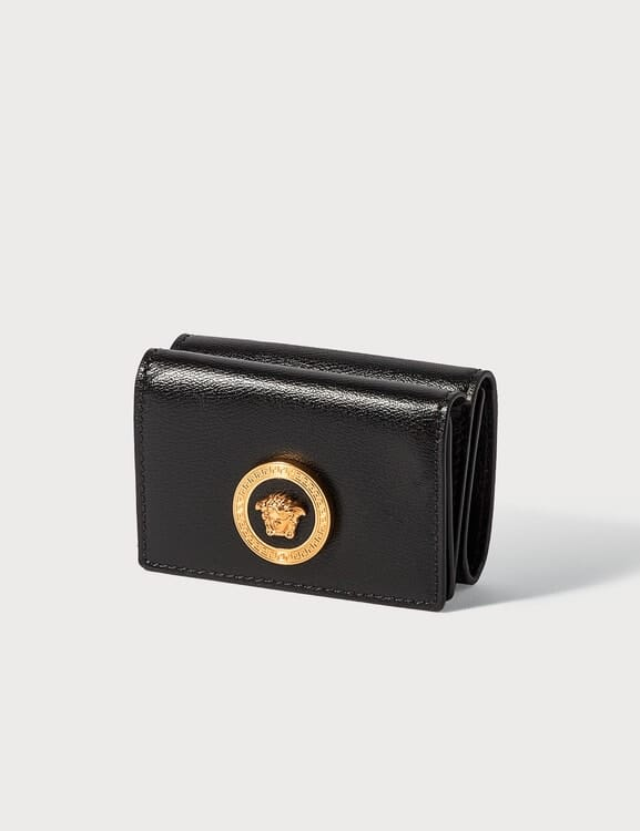 Versace Small Medusa Flap Over Wallet