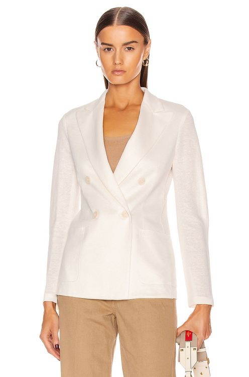 Harris Wharf London Peal Lapel Blazer Jacket