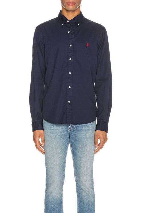 Polo Ralph Lauren GD Chino Long Sleeve Button Up Shirt