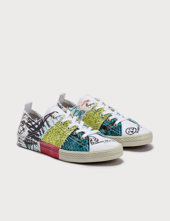 Maison Margiela Patched Sneakers