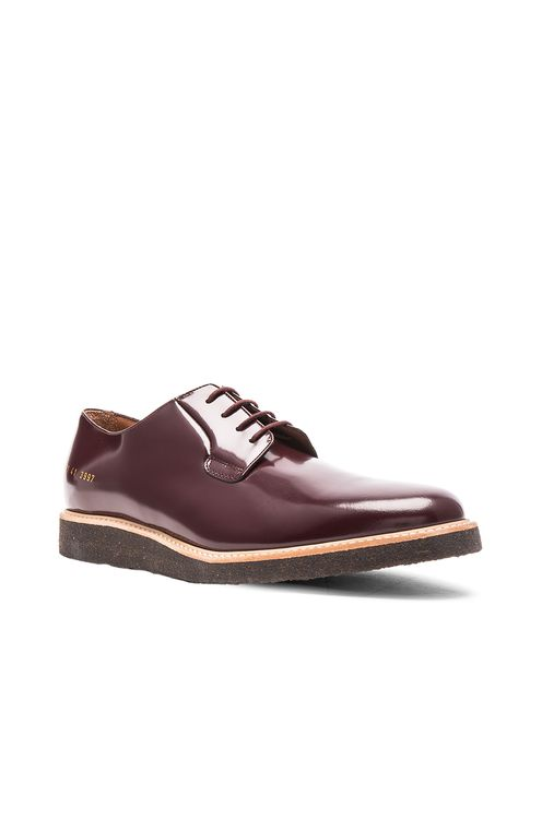 Common Projects Derby Leather Shine