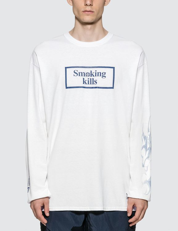 #FR2 X One Piece Action Smoker Long Sleeve T-shirt