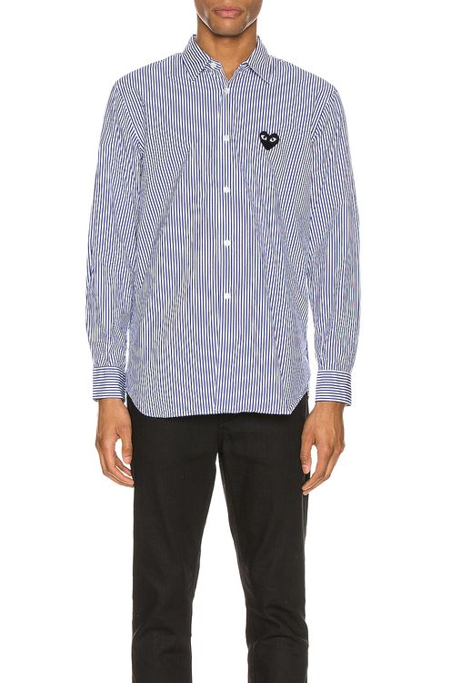 Comme Des Garcons PLAY Striped Shirt