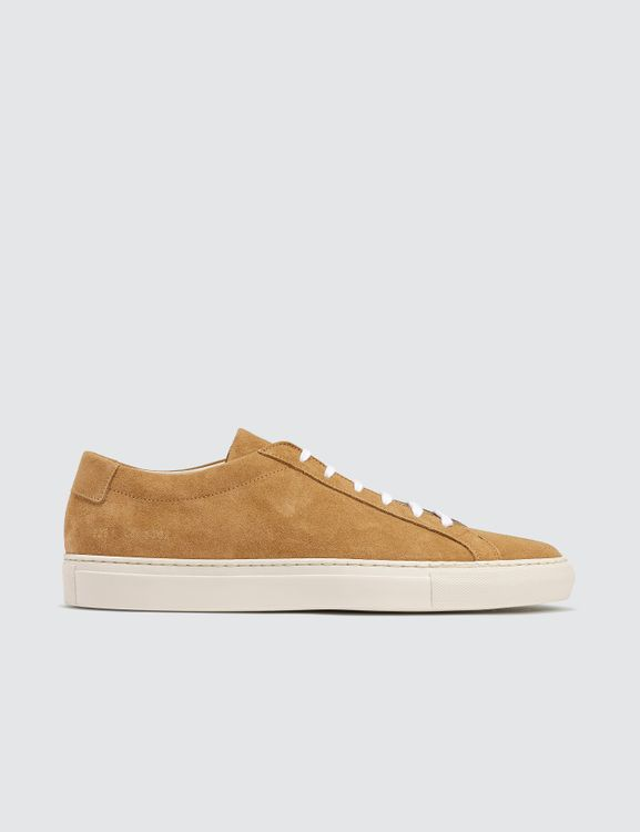 Common Projects Original Achilles Low Suede Contrast Sole