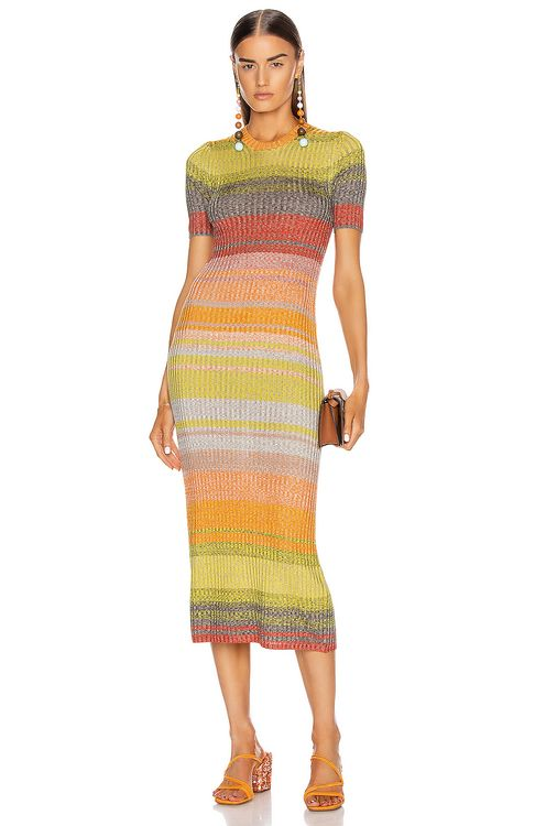 Zimmermann Brightside T-Shirt Knit Dress