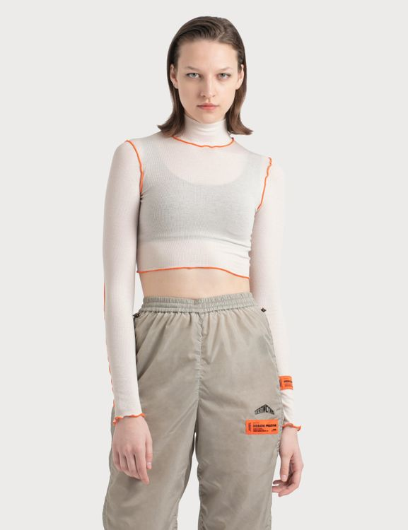 Heron Preston Turtle Neck Crop Top
