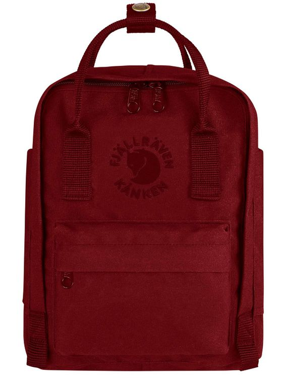 FJALLRAVEN Fjallraven Re-Kanken Mini Backpack Ox Red
