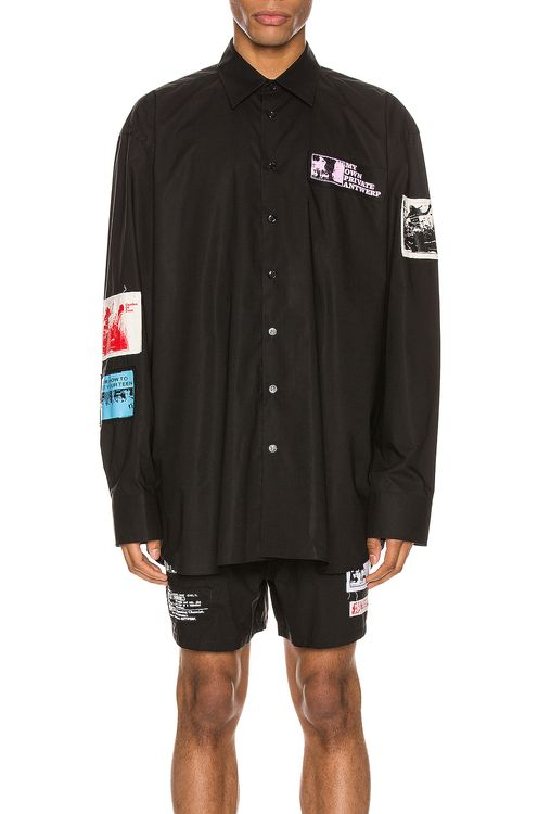 Raf Simons Patches Shirt