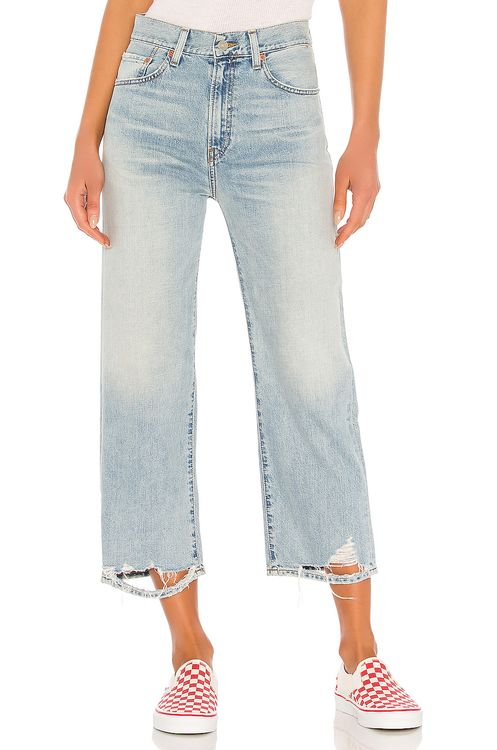 Denimist Pierce High Rise Cropped Straight