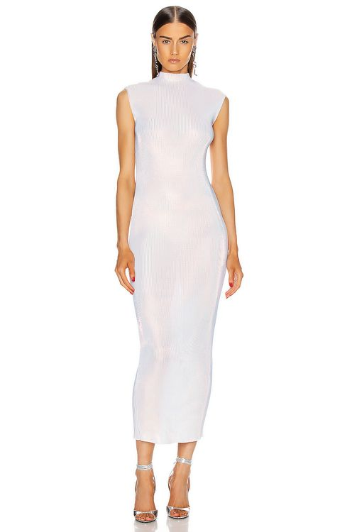 HELMUT LANG Lurex Dress