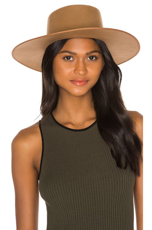 Lack of Color Teak Rancher Boater Hat