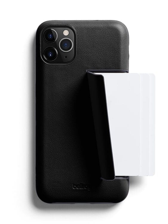 Bellroy Bellroy Leather Phone Case 3 Card for iPhone 11 Pro Black