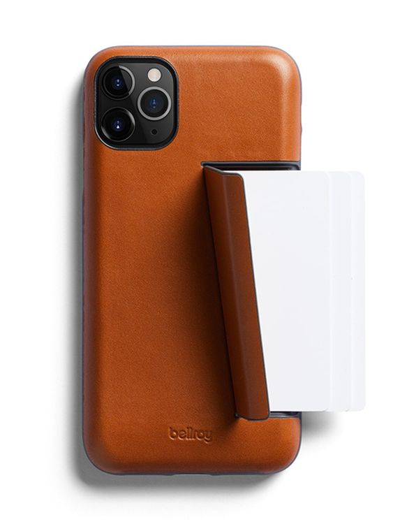 Bellroy Bellroy Leather Phone Case 3 Card for iPhone 11 Pro Caramel