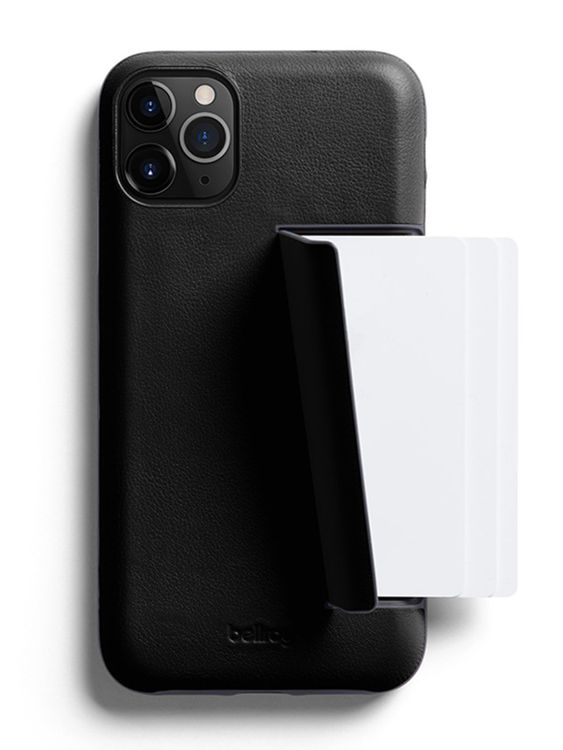 Bellroy Bellroy Leather Phone Case 3 Card for iPhone 11 Pro Max Black