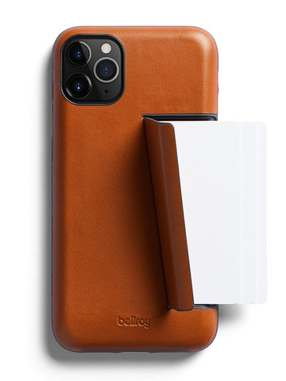 Bellroy Bellroy Leather Phone Case 3 Card for iPhone 11 Pro Max Caramel