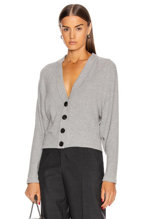 ENZA COSTA for FWRD Sweater Knit Dropped Cardigan