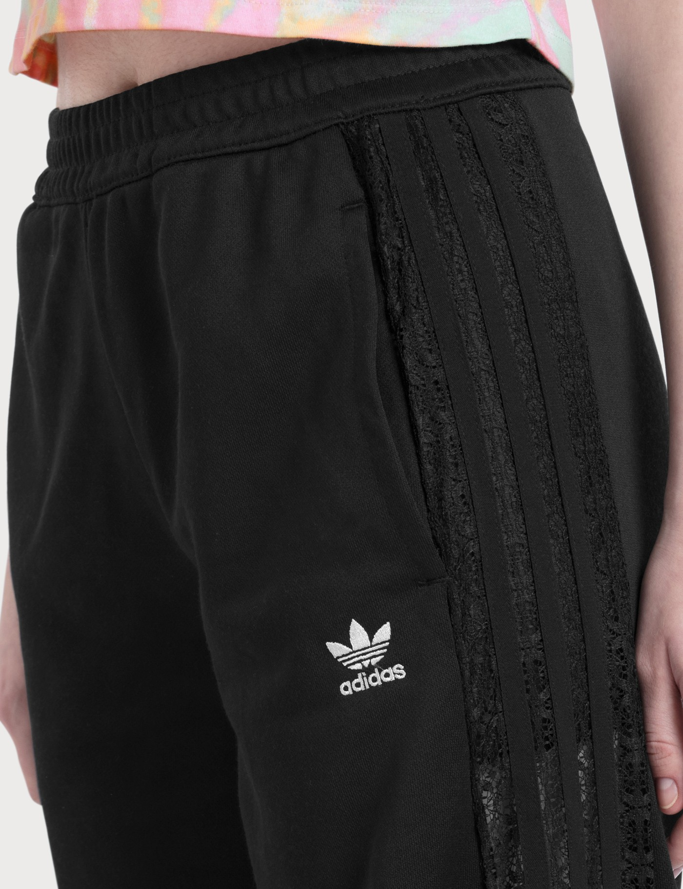 Adidas Originals Wide Leg Lace Pants