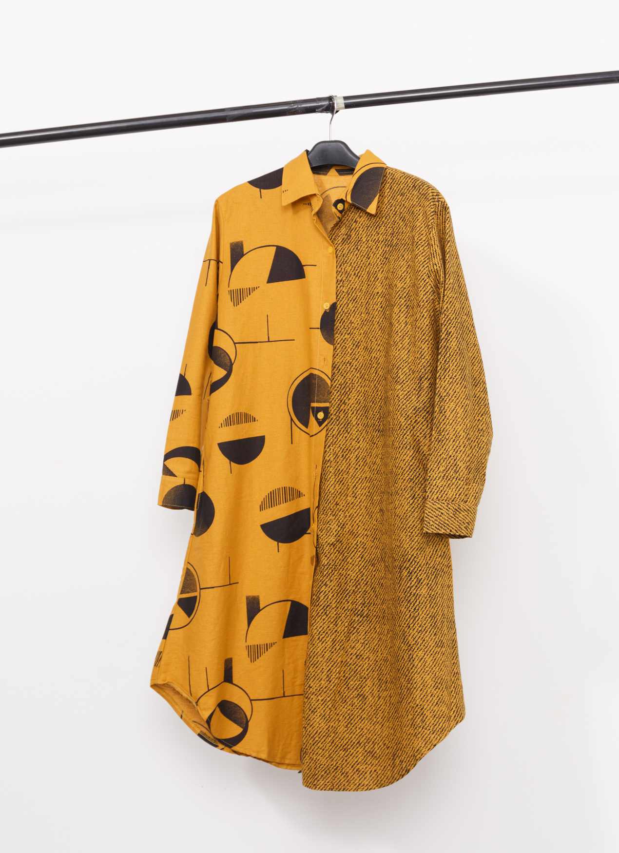 BOWN Dwyn Dress - Yellow