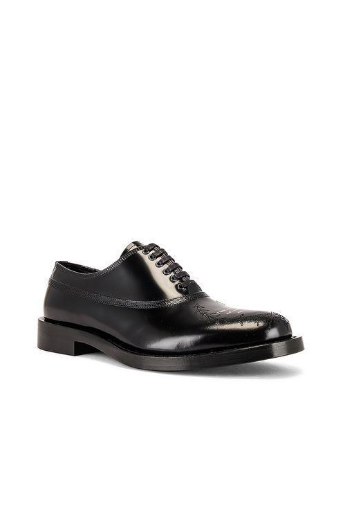 UNDERCOVER Lace Up Buck Shoe