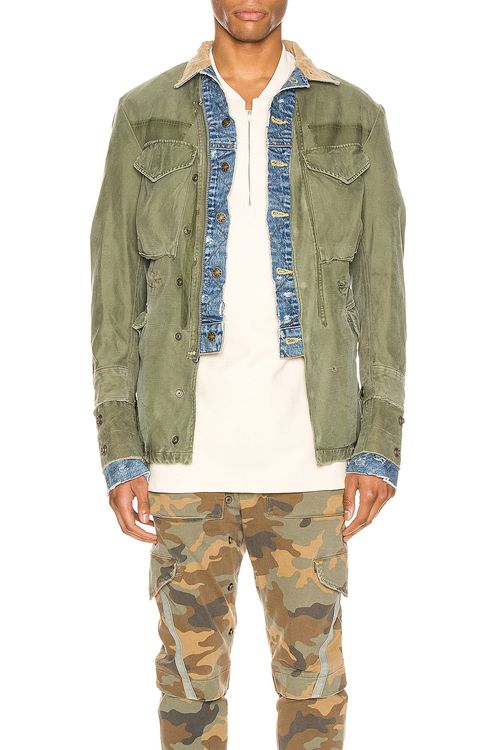 Greg Lauren Trucker Front Ollie Jacket