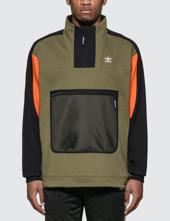 Adidas Originals 3 Quarter Zip Sweatshirt
