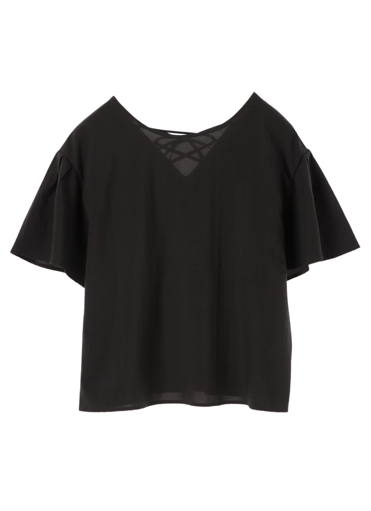 E-hyphen World Gallery Strom Top  - Black