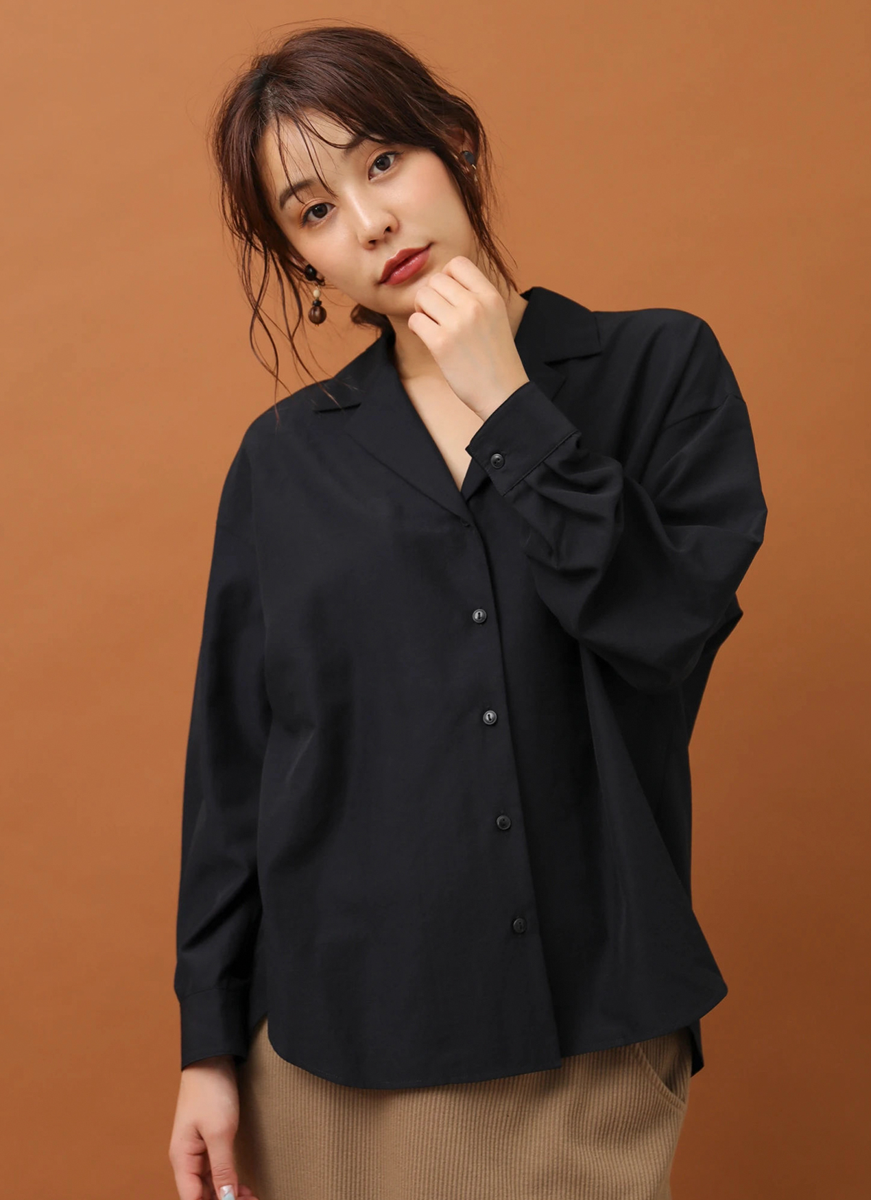 Green Parks Pinar Top  - Dark Navy