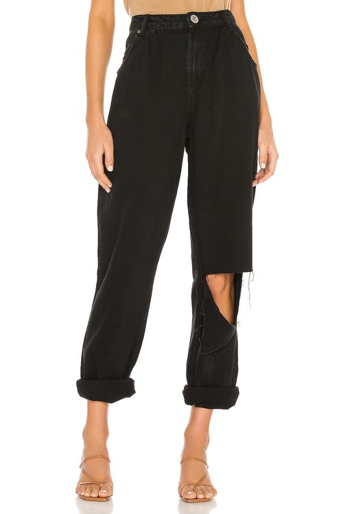 One Teaspoon Smiths High Waist Trouser Wide Leg