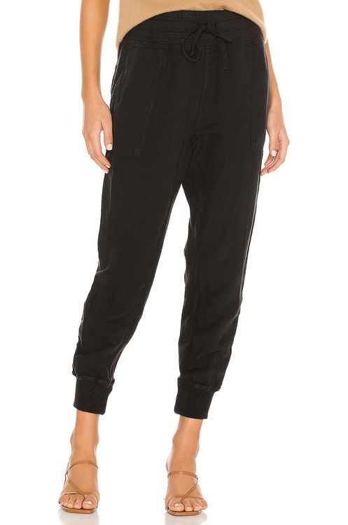 James Perse Relaxed Canvas Linen Pant