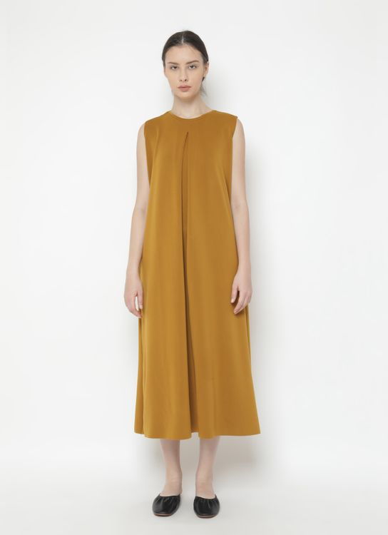 Basic by Komma Ep.02.095 - Dress Mustard