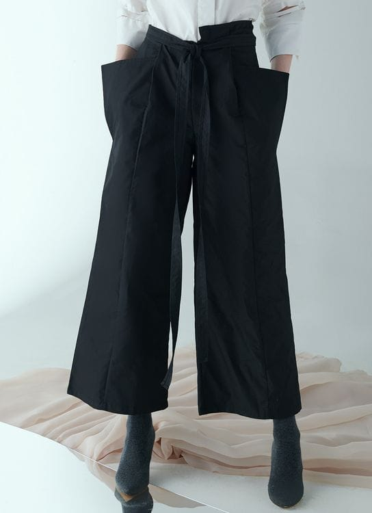 Square P14 Pants Black
