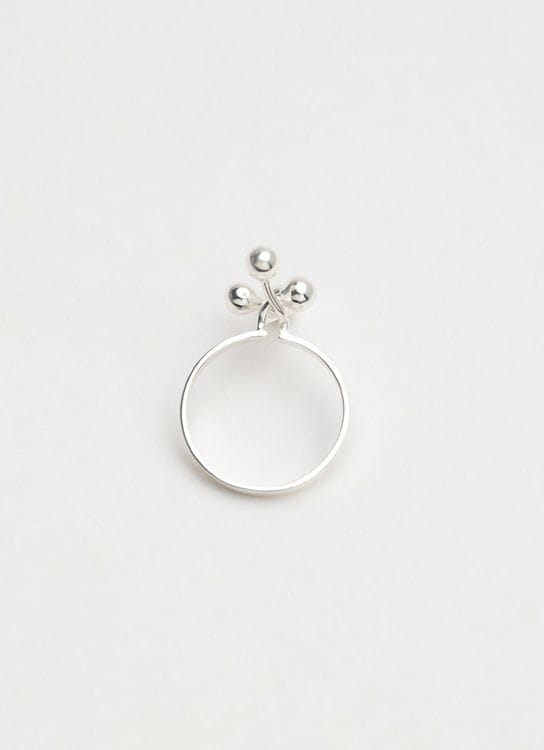 Ruang Pomegranate Ring with 4 Balls